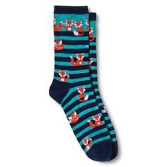Legale Women's Casual Socks - Navy Fox (One Size Fits Most)