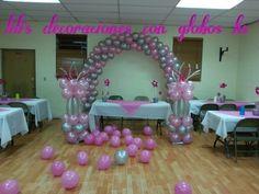 Lili's decoraciones con globos9135935412