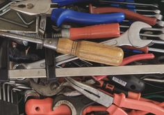 Heap Of Tools Free Stock Photo - Libreshot
