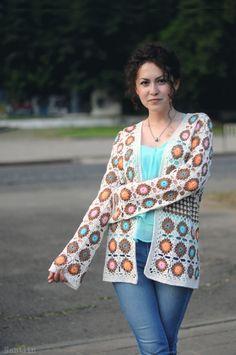 pretty crochet cardigans at Nastiin