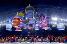 One Big Party in Sochi: Opening Ceremony Performances (Photo: How Hwee Young / EPA)