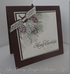 stampin up watercolor winter - Google Search