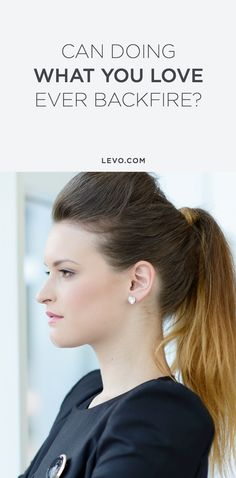"""It's one of the most popular pieces of career advice: """"Do what you love and the money will follow."""" —Find out now! @levoleague www.levo.com"""