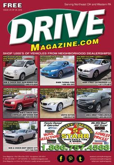 Drive Magazine Front Cover - Issue 25 of 2015