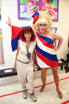 Patricia Field/ArtFashion Runway Presentation: Fashion designer Patricia Field (pictured, left, with Lady Bunny) made her first foray into Miami Art Week with a December-long pop-up shop and gallery inside Wynwood's White Dot Gallery. On December 1, Field celebrated the colorful confluence of photography, clothing, and installations with a fashion show and party that included DJ services from Lady Bunny and performances from artists Sharaya J and Coby Koehl. Drinks were provided by sponsors…