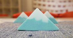 解憂富士山!簡單步驟自製三角手工皂 | 大人物