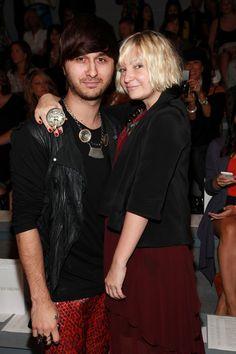 Sia Furler Photos: Christian Siriano - Front Row - Spring 2011 MBFW