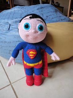 Teia de Carinhos: Super Homem - Super Buddy by Mary Smith