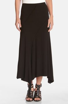 Karen Kane Spiral Seam Stretch Knit Maxi Skirt available at #Nordstrom