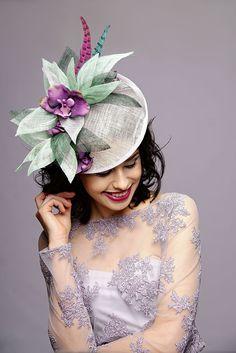 Fascinator - its fun to be youself Fascinators, Pretty Face, Crown, Model, Fun, Jewelry, Faces, Fashion, Moda