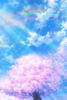 Sky Cloud Anime Fotos Hintergrundbild Widescreen # 94316 px MB Anime Himmel Wolken An Art And Illustration, Tree Wallpaper, Wallpaper Backgrounds, Desktop Wallpapers, Bright Wallpaper, Widescreen Wallpaper, Iphone Wallpaper, Anime Sakura, Manga Art