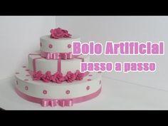 Bolo Artificial passo a passo - YouTube