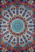 3D - Psychedelic Liquid L - Tapestry, 60 in. x 90 in., SKU: 006273
