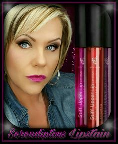 Check out Youniques newest Lipstain shade  SERENDIPITOUS that only is available in the January Kudos!