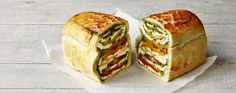 James Martin�s stuffed layered loaf