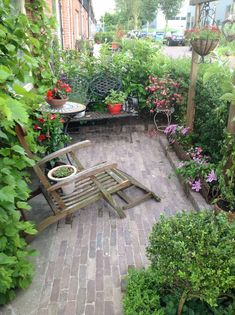 Mijn kleine tuin, voortuin (1)