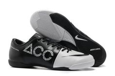 cf6fd9a0494e Nike GS Green Speed Concept II IC ACC Mens Indoor Soccer Cleats With White  and Black