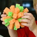It's Overflowing   Tips to Simplfy, Beautify, Delight: How to Make a Sponge Ball for Summer Water Fun!