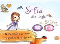 "Disneys ""Sofia die Erste"" Kinderbuch App"