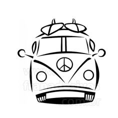 1503 best vw buses images vw beetles vw vans antique cars Beetle Art peace vw bus svg deco surf volkswagen bus vw c er surf art