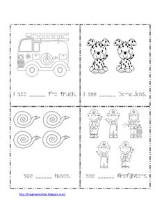 Here is a worksheet you can use for community helpers or fire safety week. I hope you like it. Thanks!< Crystalhttp://kreativeinkinder.blogsp...