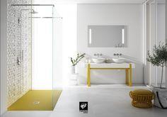 Nuestros muebles de baño y platos de ducha en Cevisama 2017