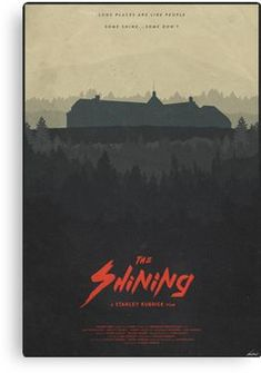 Poster The Shining Stephen King Horror Jack Nicholson Stanley Kubrick poster 80s Movie Posters, Minimal Movie Posters, Horror Movie Posters, Cinema Posters, Movie Poster Art, Horror Movies, Stanley Kubrick, The Shining Poster, Scary Films