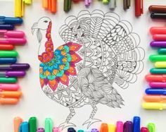 Matryoshka Doll Coloring Page download adult by Thrive360Living