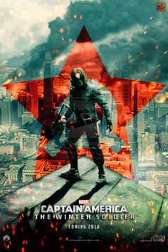 Captain America - The Winter Soldier by AndrewSS *...BTW, just saw the movie.  AWESOME!!!!!