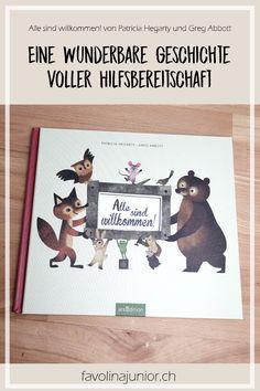 Alle sind willkommen! von Patricia Hegarty und Greg Abbott #Bilderbuch #Hilfsbereitschaft #bookstagram