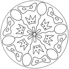 Carnival Masks and Crowns Mandala Carnival Crafts, Carnival Masks, Mandala Coloring, Colouring Pages, School Art Projects, Projects To Try, Mandalas For Kids, Cd Art, Preschool Activities