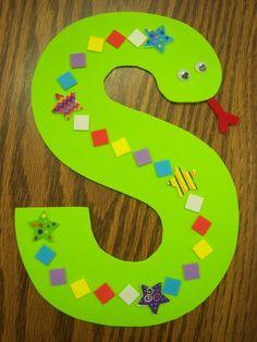 Letter S Snake!