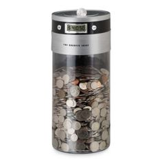 The Sharper Image® Digital Coin Counting Bank : Bed Bath and Beyond Atm Bank, Counting Coins, Digital Coin, Buy Cryptocurrency, Bitcoin Business, Savings Bank, Show Me The Money, Image Digital, Minecraft Designs