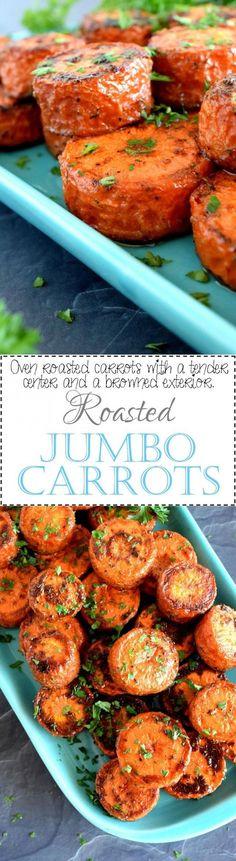 Roasted Jumbo Carrot
