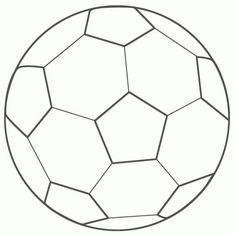 Soccer Ball Coloring Pages Free Printables Soccer ball Sport