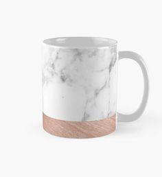 Rose Gold Marble Mug