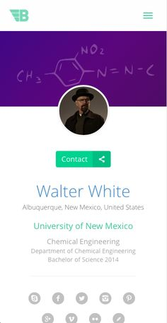 Mobile screenshot from www.TutorBuddies.com - The leading platform for College and University students who want to FIND or BE a peer tutor on their campus. #walterwhite #breakingbad #chemistry #TutorBuddies #college #university #tutoring #socialmedia #startups #sharktank #venturecapital