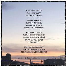 """Elina Salminen sanoo Instagramissa: """"Hyvää maailman runouden päivää sinä sitkeä mies ja notkea neito! #runoilijaelinasalminen #elinasalminen #elinakesken"""" Movies, Movie Posters, Instagram, Films, Film Poster, Popcorn Posters, Cinema, Film Books, Film Posters"""