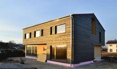 Einfamilienhaus mit Doppel-Carport, Ansicht Süd-West, Fuchsteil, Ortteil Asch  Weitere Infos auf meinem Blog unter http://tmblr.co/ZVR0Jy_r86sm #Michael Folkmer