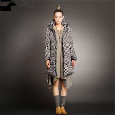 $37.80 (Buy here: https://alitems.com/g/1e8d114494ebda23ff8b16525dc3e8/?i=5&ulp=https%3A%2F%2Fwww.aliexpress.com%2Fitem%2FFashion-2016-New-Design-Winter-Ladies-Duck-Down-Jackets-Women-Polka-Dot-High-Collar-Long-Warm%2F32697555396.html ) Fashion 2016 New Design Winter Ladies Duck Down Jackets Women Polka Dot High Collar Long Warm Casual Coat Down Jacket W860 for just $37.80