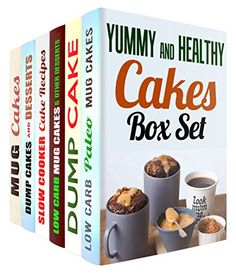 Yummy and Healthy Cakes Box Set (6 in 1): Over 200 Low Carb Mug Cakes, Dump Cakes and Slow Cooker Recipes to Make without Guilt! (Low Carb Desserts & Mug Cakes) by Sheila Hope http://www.amazon.com/dp/B01A364W22/ref=cm_sw_r_pi_dp_WFFWwb03DV4NX