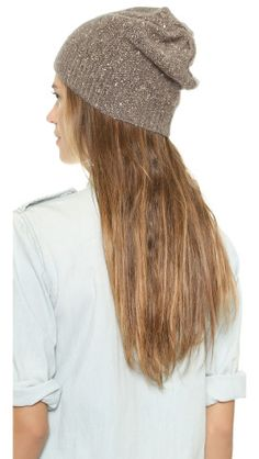 alice + olivia Sequin Knit Hat |