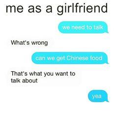 100% #foodislife #totallyme #weneedtotalk