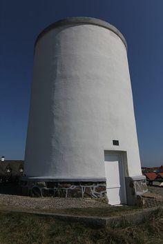 Old water tower in Løkken, Denmark
