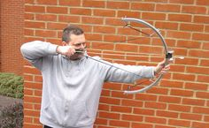 """Being resourceful in a survival situation is critical and could make the difference between surviving – or not. This bow, made from an old bike tire rim, inner-tube and catapult rubber, is easy to make, very effective and would be very useful for hunting small game and even in some instances of self defense.<a href=""""http://www.diehardsurvivor.com/make-this-epic-bow-from-a-bike-rim/"""" title=""""Read more"""" >...</a>"""