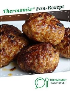 Mega delicious from Zerxis. A Thermomix ®️️ recipe from the main course with meat category www.de, the Thermomix ®️️ community. Seafood Appetizers Seafood Appetizers Appetizers Appetizers for a crowd Appetizers parties Meatball Recipes, Pork Recipes, Seafood Recipes, Crockpot Recipes, Chicken Recipes, Dinner Recipes, Cooking Recipes, Cooking Ribs, Cooking Pasta