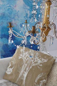 Carolyn Quartermaine' s work, just in between Art and Design,