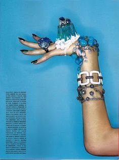 """""""The Today Menu"""": Michael Baumgarten Shoots Jewelry and Food for Vogue Gioiello"""