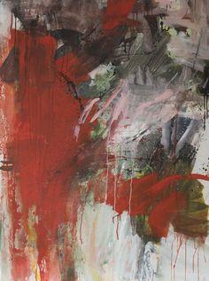 Bernadette Morand  Acrylique sur toile  130 cm x 97cm