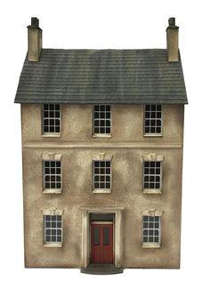 Marshalswick House building kit in 4mm / OO gauge by www.petite-properties.com